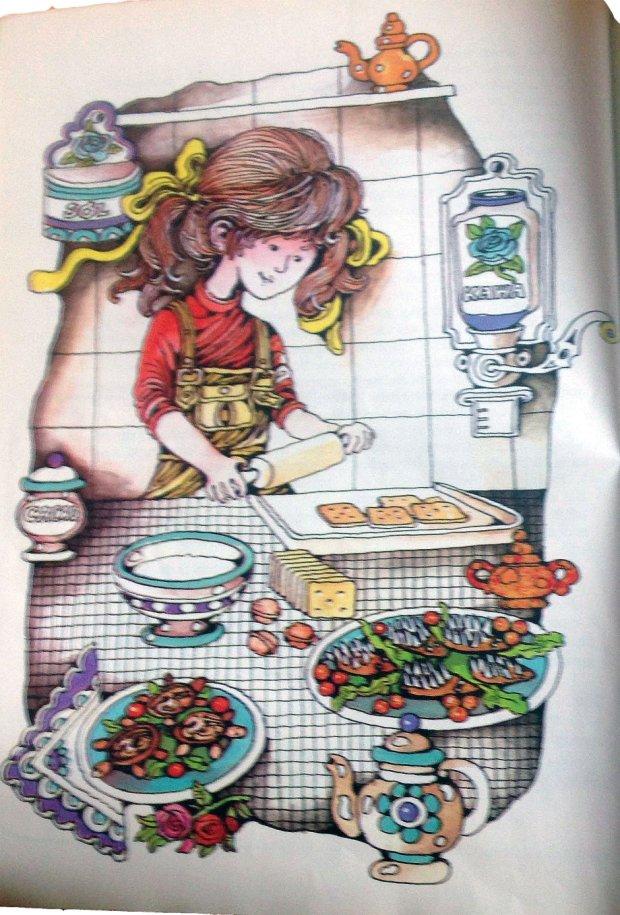 Ktoś jeszcze zna książki kuchenne z ilustracjami? (fot. Agnieszka Haponiuk)