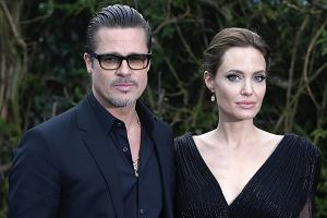Angelina Jolie i Brad Pitt - jeszcze przed rozwodem