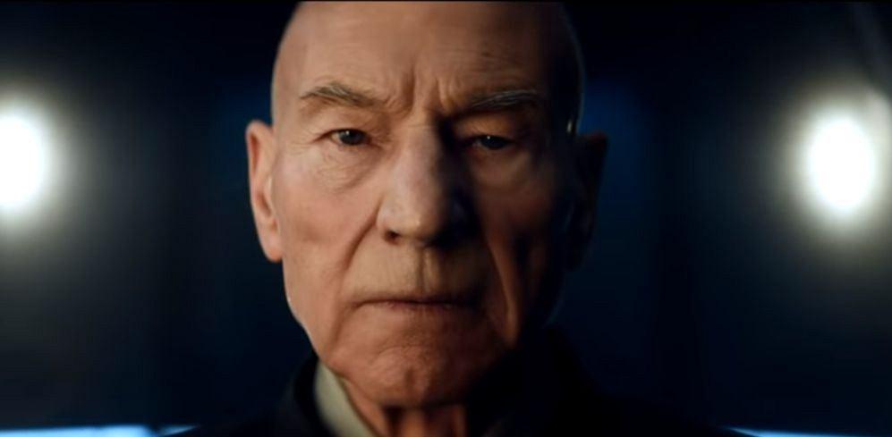 Patrick Stewart jako Jean-Luc Picard