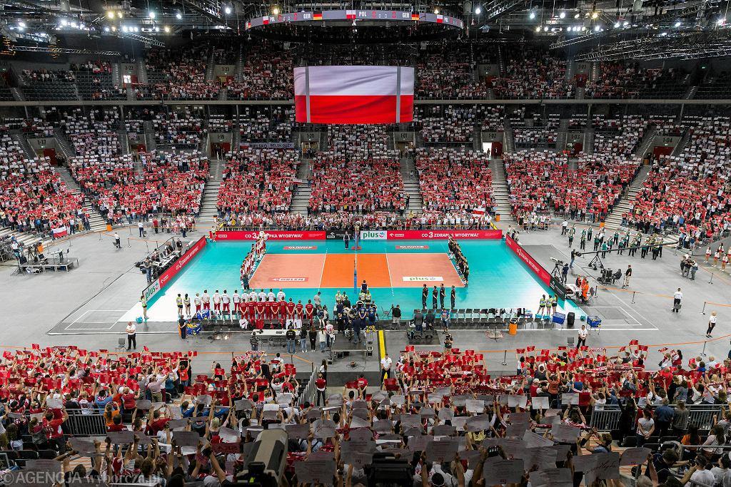 Niedawny mecz Polska - Niemcy w Gliwicach