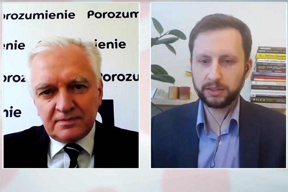 Jarosław Gowin mówił o przyroście bezrobocia po kryzysie