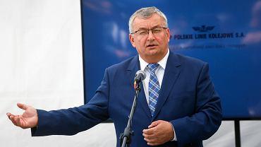 Minister Andrzej Adamczyk