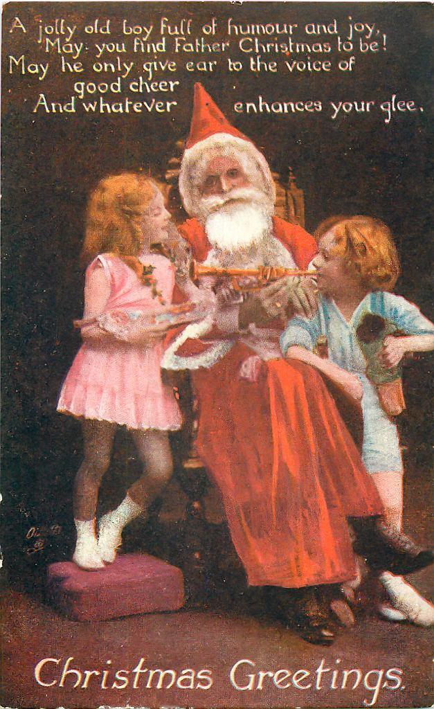 Father Christmas, ok. 1919 / Domena publiczna