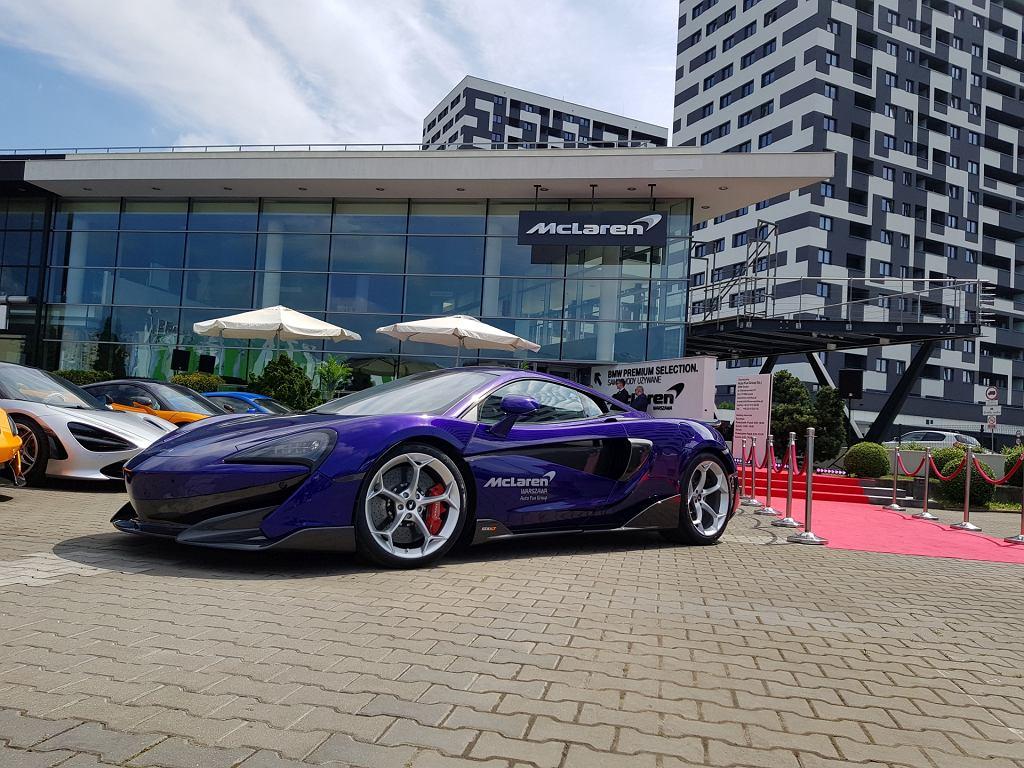 Otwarcie salonu McLarena w Warszawie