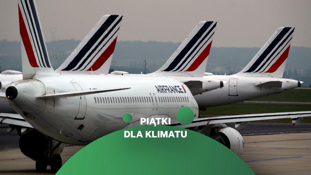 Samoloty Air France