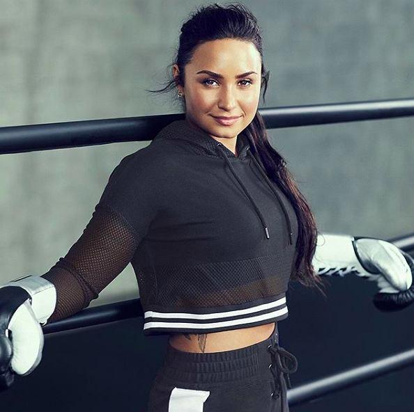 Demi Lovato regularnie ćwiczy