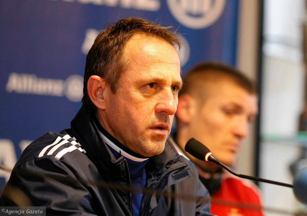 Dyrektor sportowy Górnika Robert Warzycha