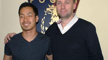 Takuya Murayama i Grzegorz Smolny