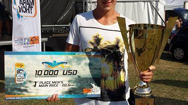 Krzysztof Pielowski w maratonie BTC był najszybszy wśród mężczyzn