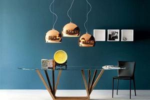 TREND: szaro-miedziane mieszkanie