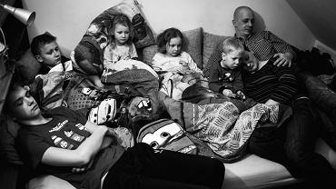 Zdjęcie z cyklu: 'Migawki z życia rodziny'
