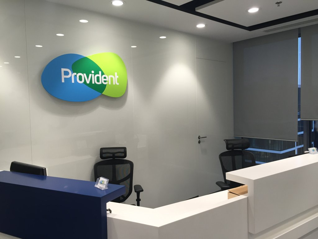 Biuro firmy Provident