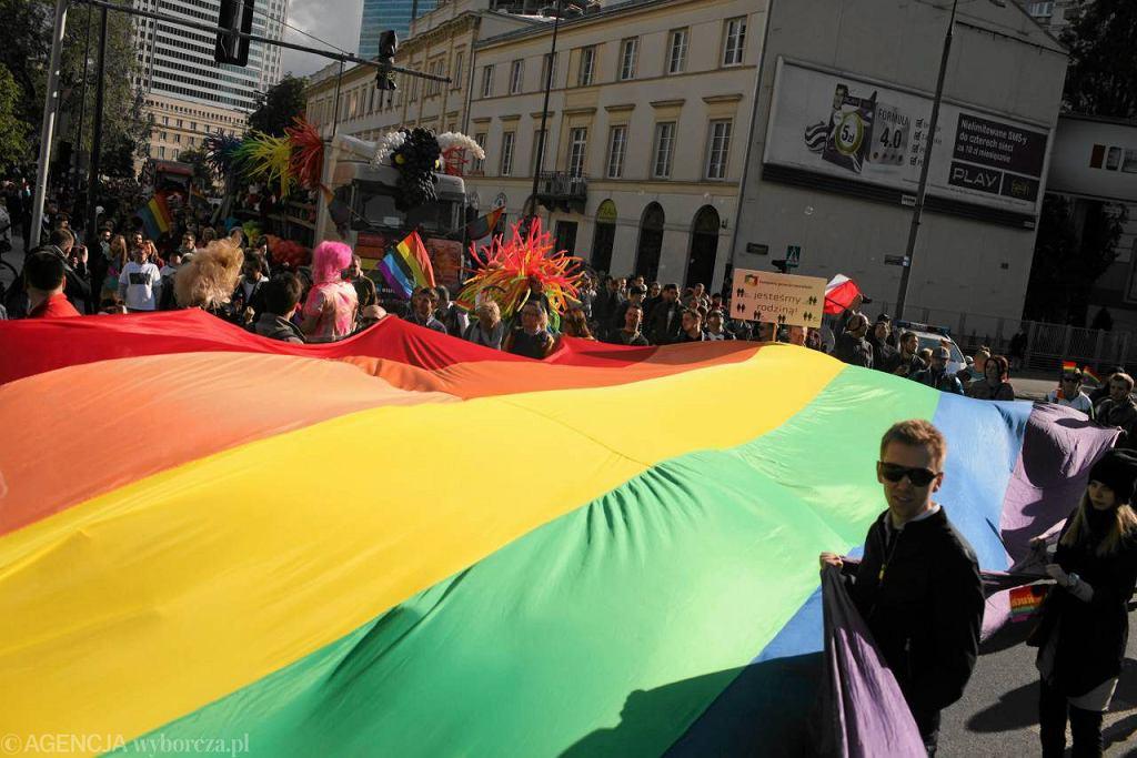 Parada Równości w Warszawie w 2012 r.