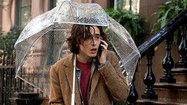 Deszczowy dzień w Nowym Jorku
