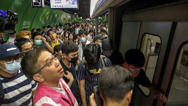 W Hongkongu w poniedziałek rozpoczął się strajk generalny