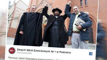 Ks. Rakowski, rabin Nistell, imam Chadid