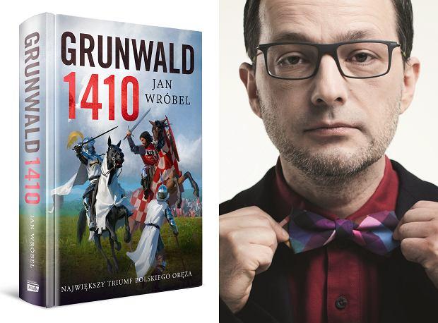 Jan Wróbel, autor książki 'Grunwald 1410' (fot. Materiały prasowe)