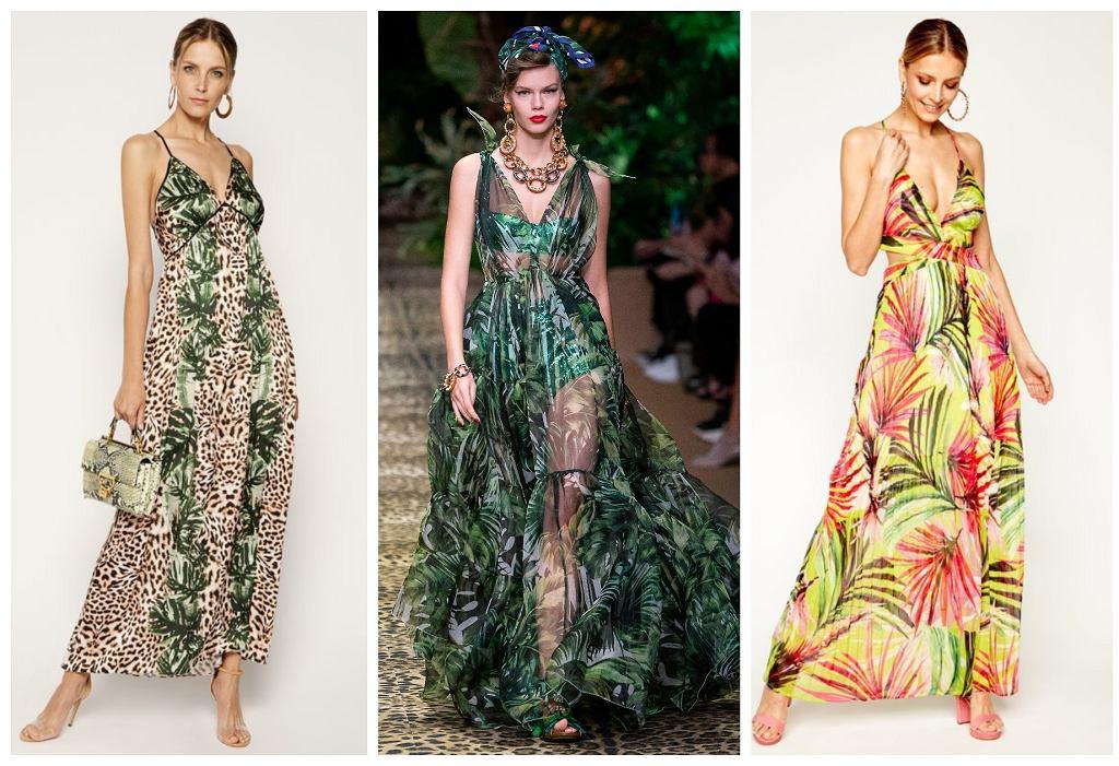 sukienka safari