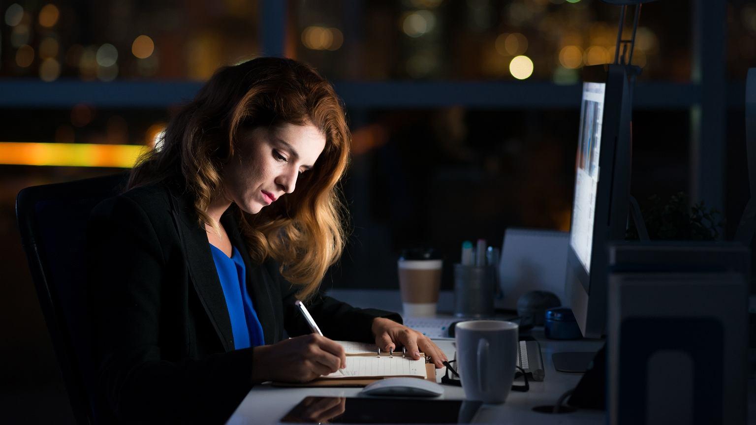 Pracoholizm dotyka kobiet w takim samym stopniu jak mężczyzn