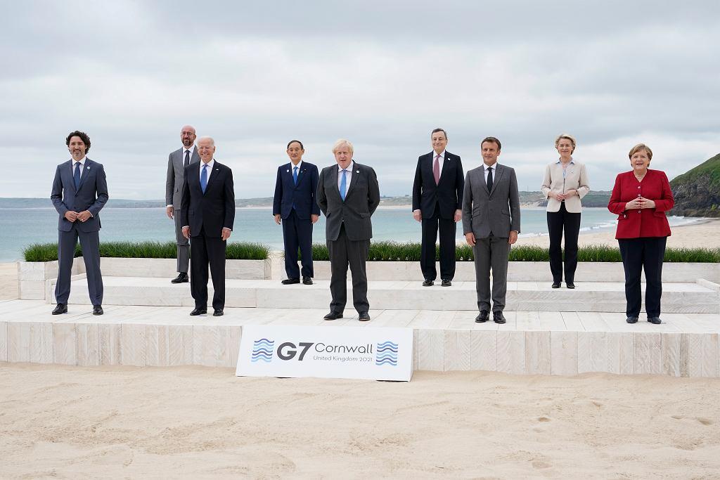 Szczyt przywódców G7.