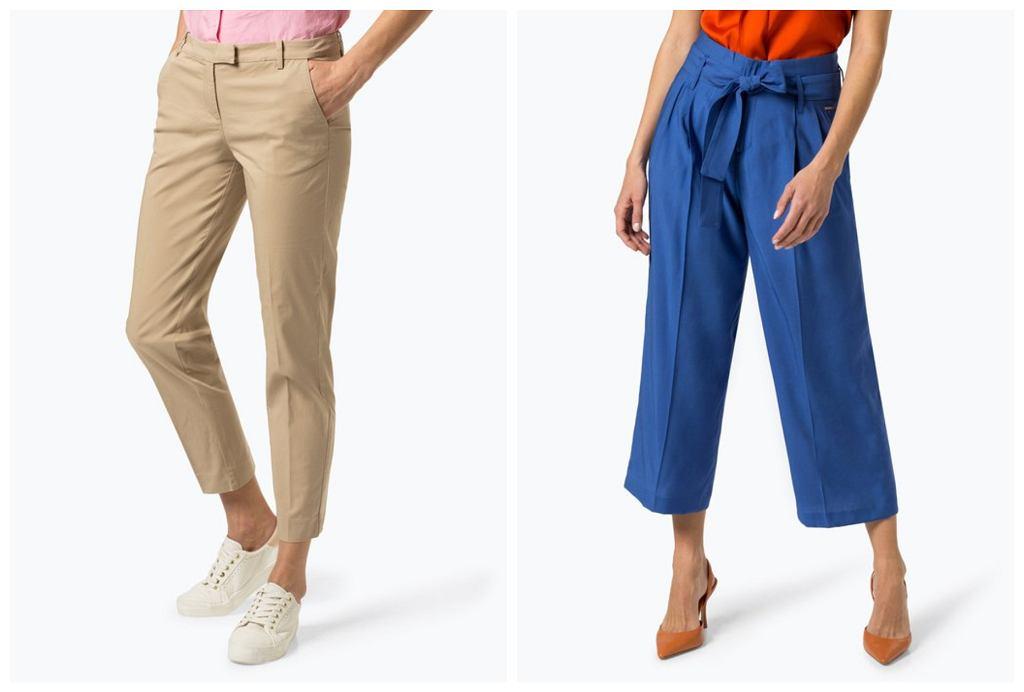eleganckie spodnie dla pań po 50-tce