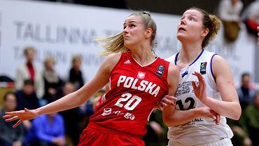 W kwalifikacjach do Eurobasketu 2019 polskie koszykarki pokonały na wyjeździe Estonię 87:68