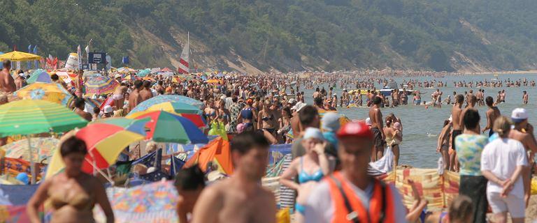 Pokazał, jak wyglądał weekend na plaży we Władysławowie. Włos się jeży