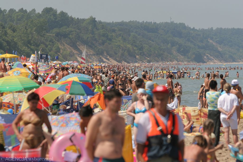 Plaża we Władysławowie - zdjęcie ilustracyjne