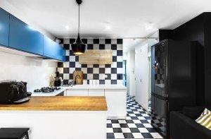 Malowanie ścian Kuchnia Wzory Wnętrzaaranżacje Wnętrz