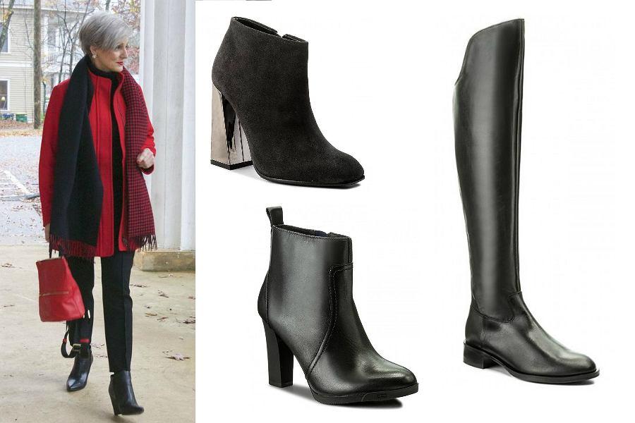 buty na zimę dla dojrzałych kobiet