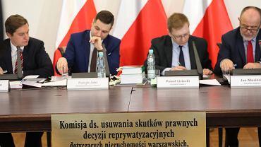 Komisja weryfikacyjna ds. usuwania skutków prawnych decyzji reprywatyzacyjnych dotyczących nieruchomości warszawskich
