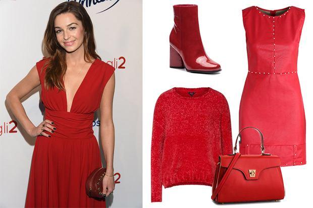 jak stylowo nosić czerwony kolor/mat. partnera/WBF
