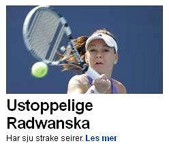 Screen z serwisu dziennika Aftenposten