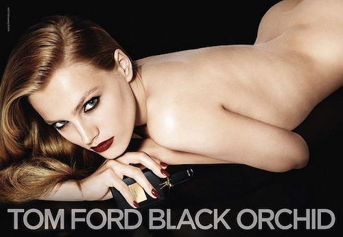 Anna Jagodzińska w kampanii perfum Tom Ford