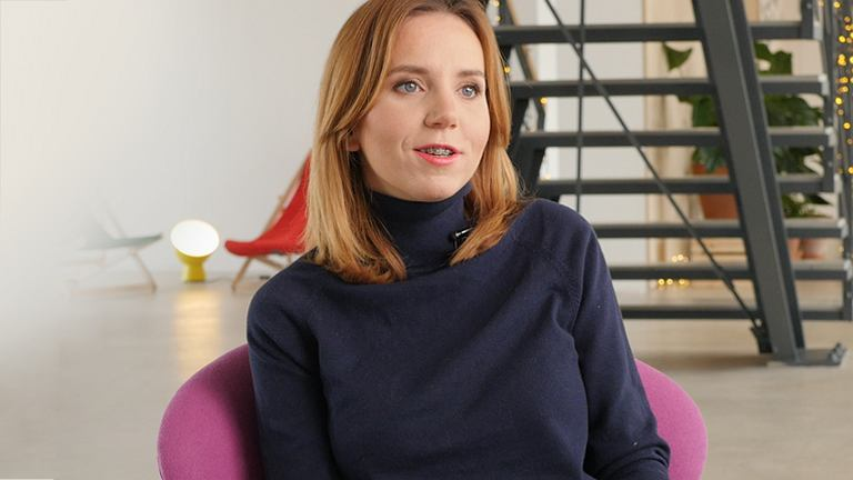 Anna Skórzyńska, współwłaścicielka firmy Szumisie