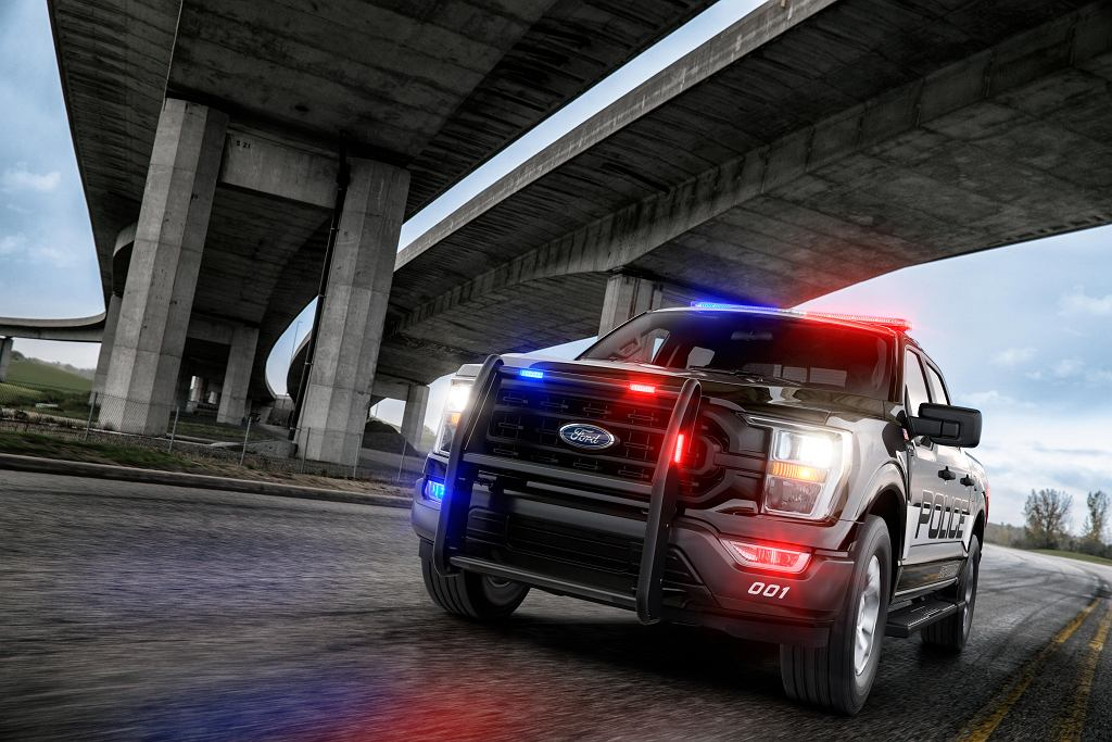 Nowy Ford F-150 Police Responder 2021