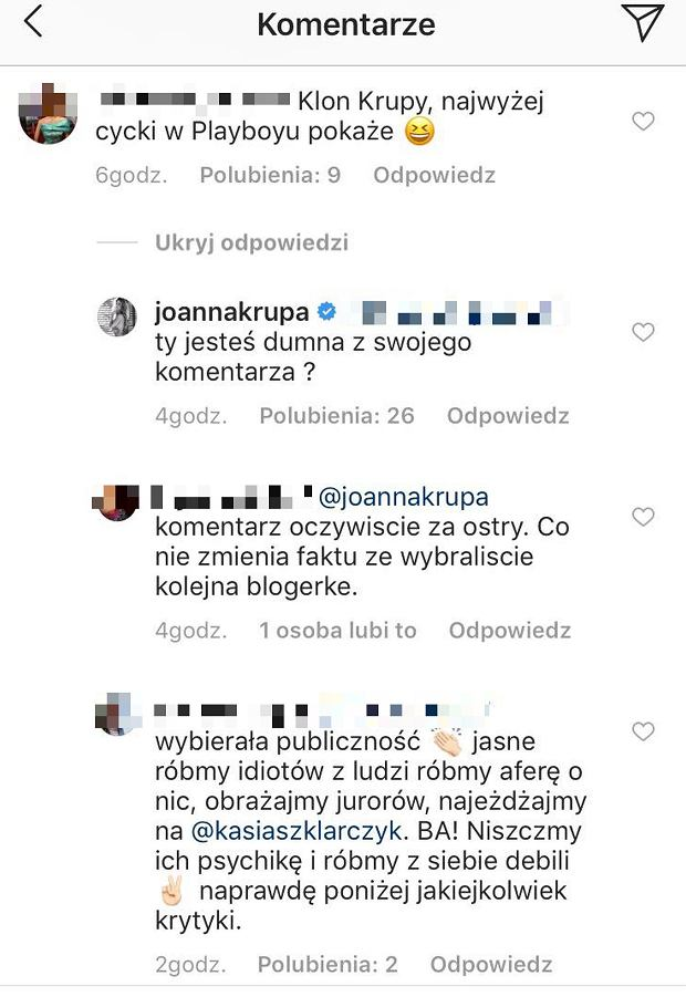 Kasia Szklarczyk - co sądzą o niej widzowie?