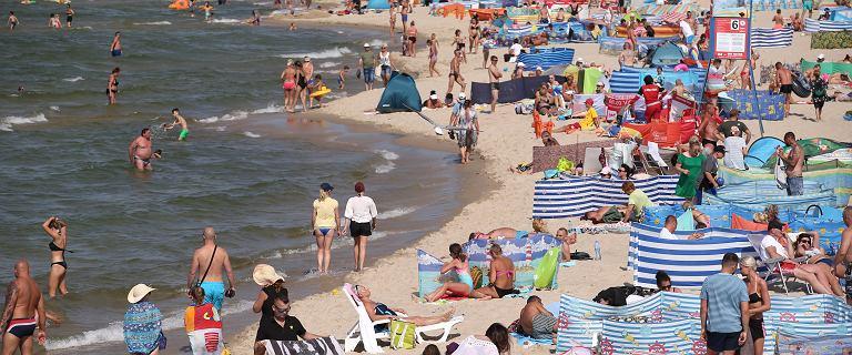 Padł rekord temperatury Morza Bałtyckiego. Gdzie się kąpać? Lista miast