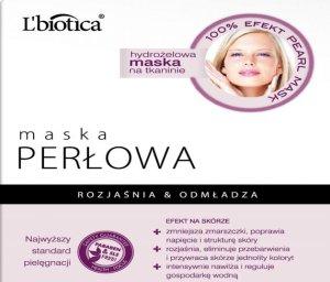 Maska perłowa na tkaninie L'biotica