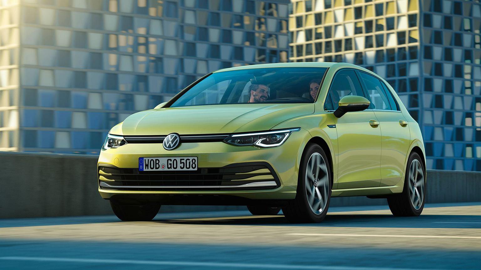 Nowy Volkswagen Golf 8 - ceny, konkurenci, silniki. Na razie od 91 ...