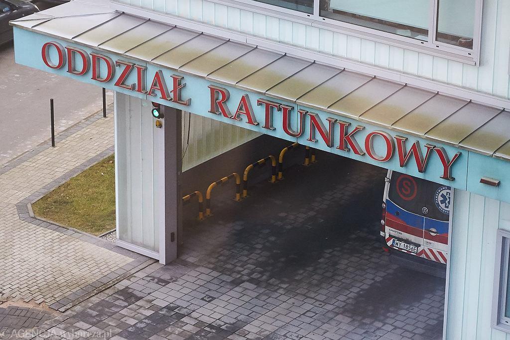 Lublin. 94-letni kombatant musiał czekać niemal 8 godzin na SOR / Zdjęcie ilustracyjne