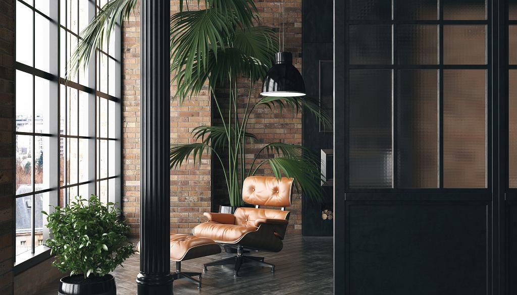 Fotel Eames Lounge Chair.