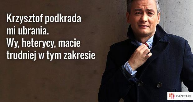 26.02.2014 Warszawa. Poseł Robert Biedroń
