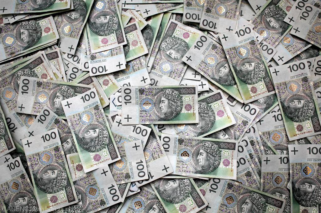 Pieniądze. Zdjęcie ilustracyjne
