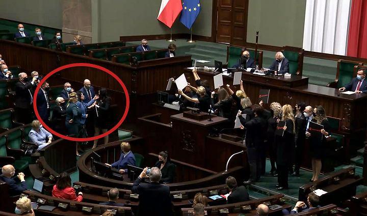 Zamieszanie w Sejmie