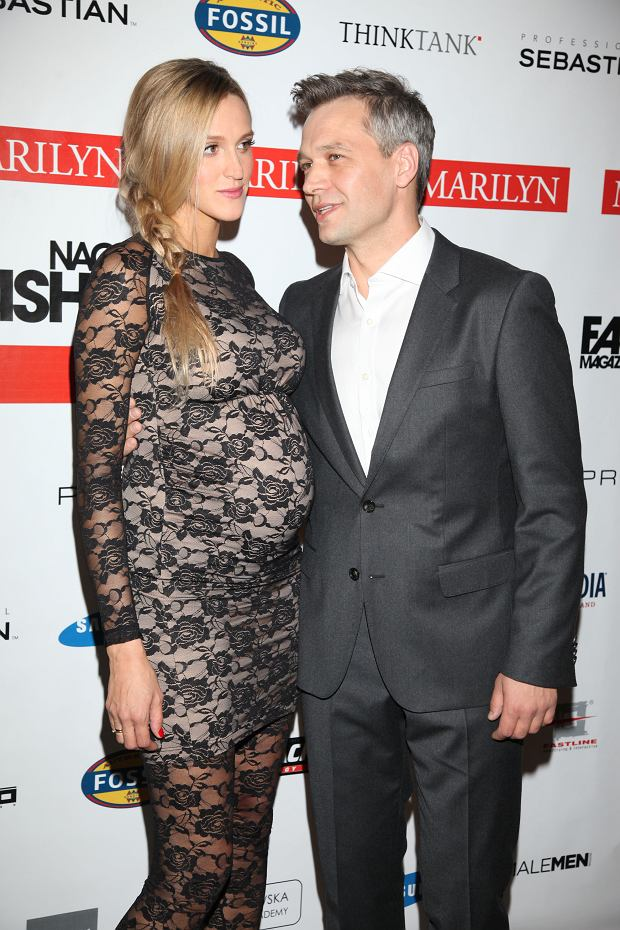ola żebrowska, ola adamczyk, aleksandra żebrowska, żona żebrowskiego w ciąży