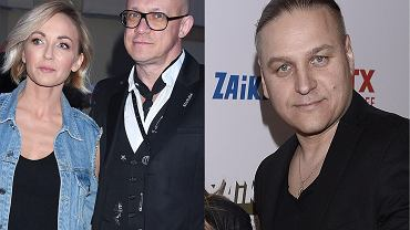 Anna Wyszkoni z partnerem, Paweł Golec