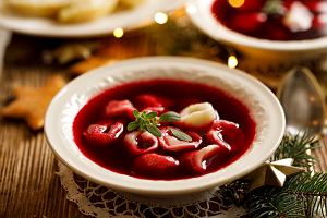 Barszcz czerwony wigilijny - przepis na świąteczną zupę
