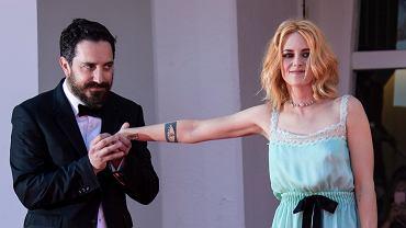 Pablo Larrain i Kristen Stewart na festiwalu w Wenecji
