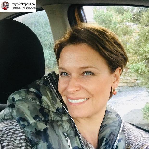 Paulina Młynarska w krótkich włosach